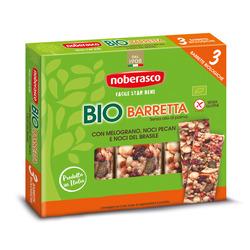 Noberasco - Bio Barretta con Melograno, Noci Pecan e Noci del Brasile 3 x 25 g