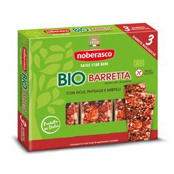 Noberasco - Bio Barretta con Goji, Physalis e Mirtilli 3 x 25 g