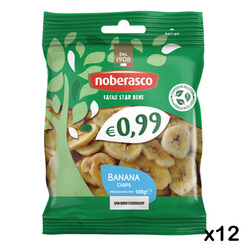 Noberasco - 0,99 Banana Chips 100g x 12