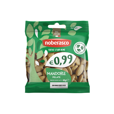0,99 Mandorle Pelate 40 g