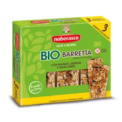 Bio Barretta con Mango, Quinoa e Gelso Nero 3 x 25 g