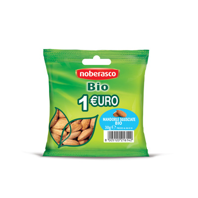1€ Bio Mandorle sgusciate