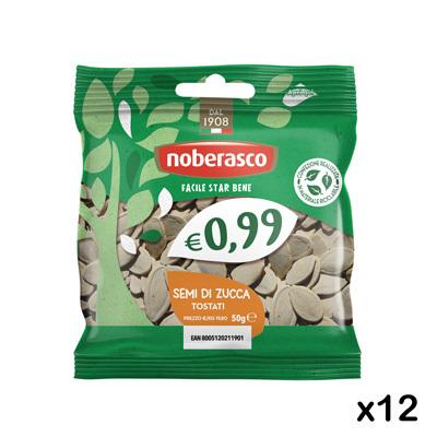 Semi di Zucca Tostati Salati 0,99 50g x 12