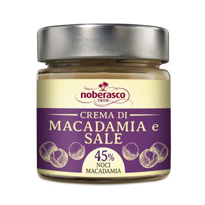 Noberasco 1908 Crema Macadamia e Sale 240G