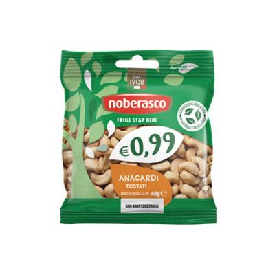 0,99 Anacardi tostati busta 40 gr