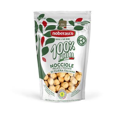 Nocciole pelate e tostate 100% Italia 120g